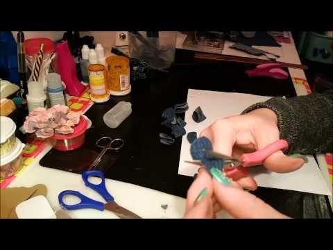 Denim Flower Bracelet DIY - You asked for it.  here it is!