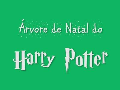 [DIY] Árvore de Natal do Harry Potter