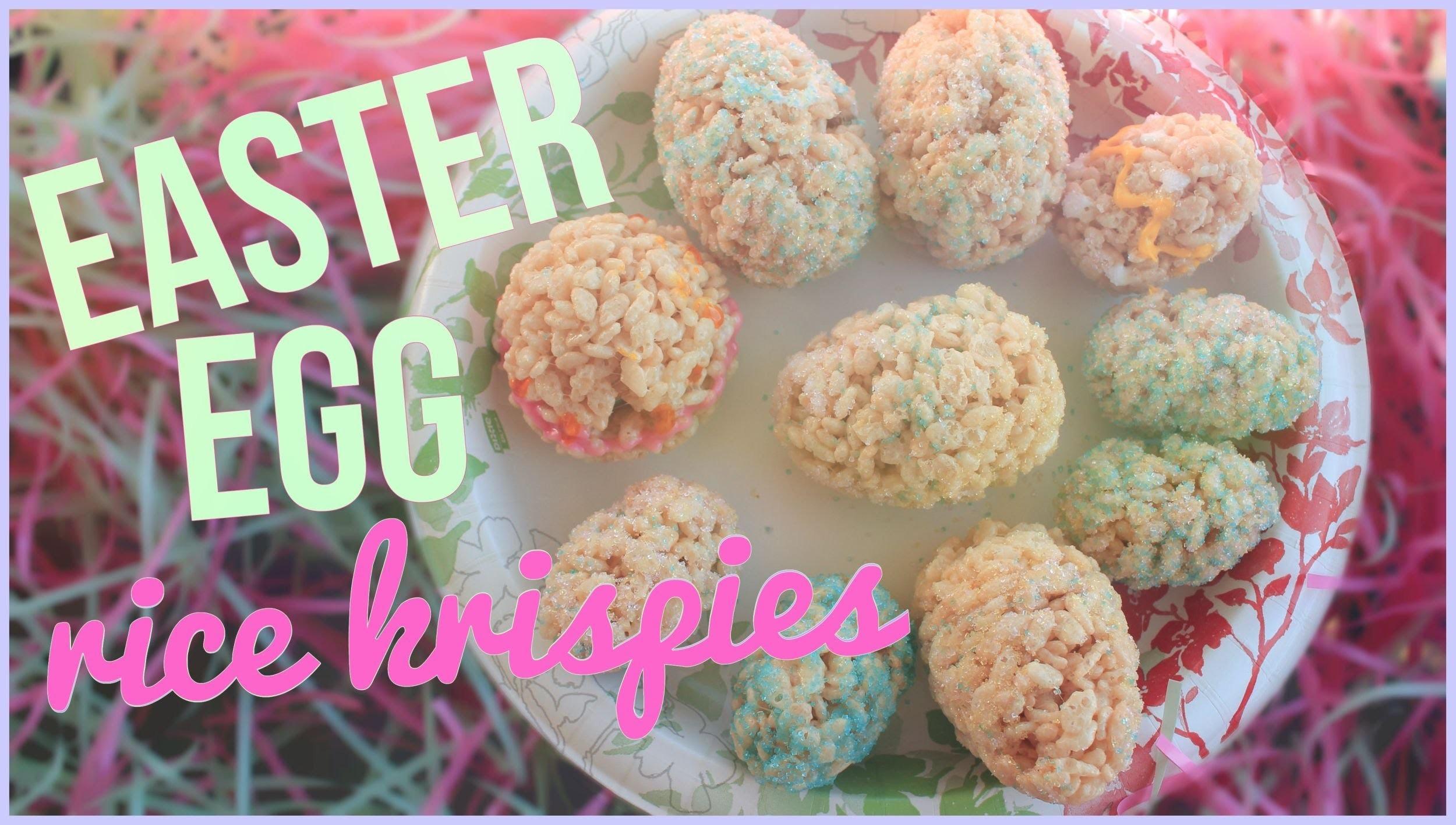 DIY Easter Egg Rice Krispies! ☼