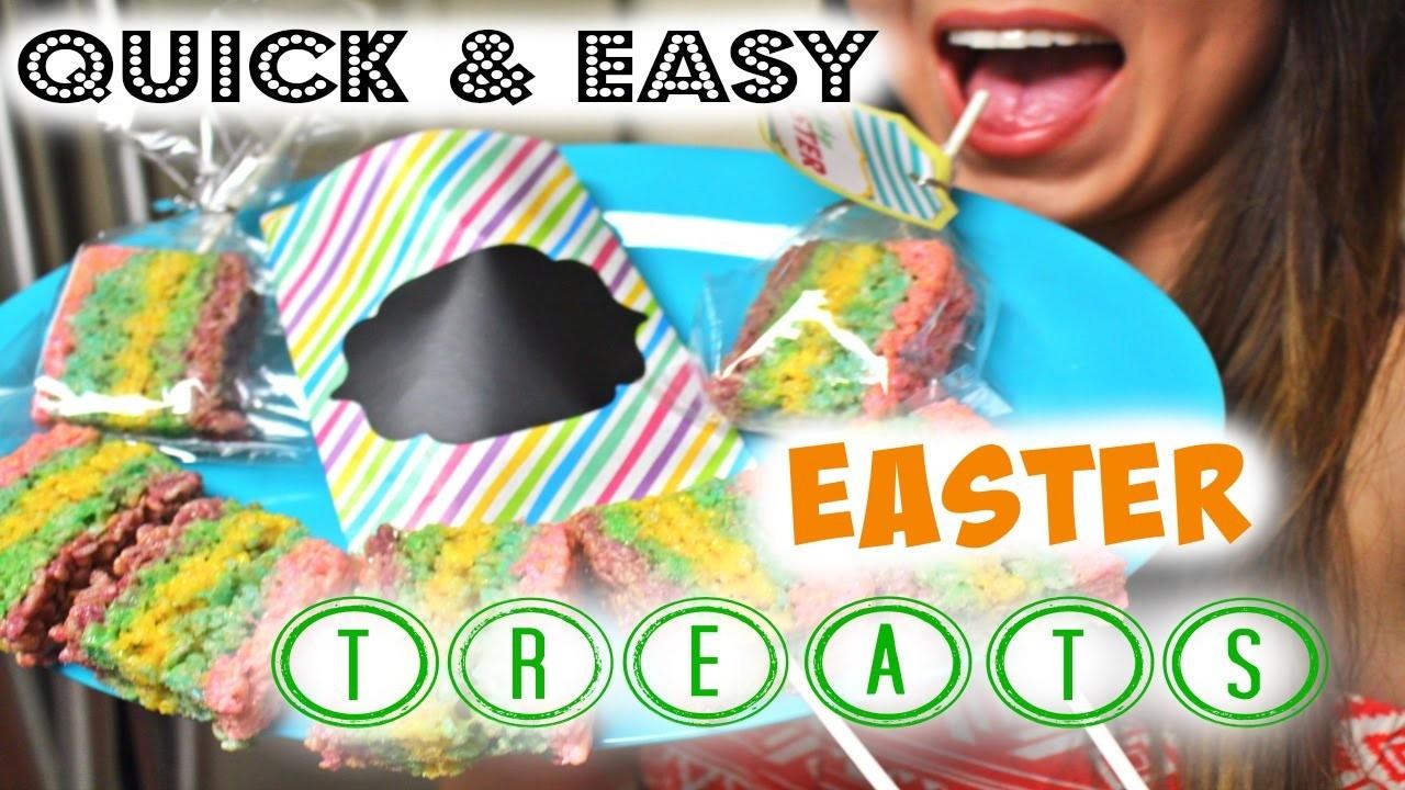 DIY Easter Rice Krispy Treats   Quick & Easy