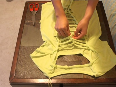DIY | Easy Cut out and Braided Summer Shirts!!