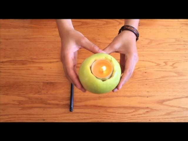 DIY Episode 3: Apple Candle