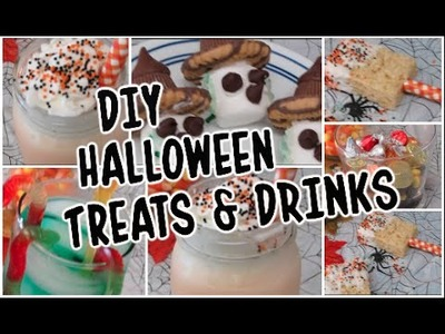DIY Halloween Treats & Drinks | CartneyBreanne