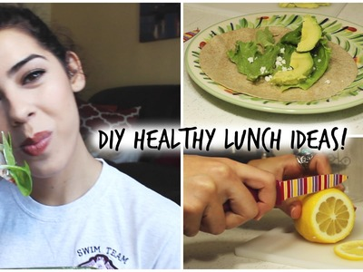 DIY Healthy Lunch Ideas For School 2015