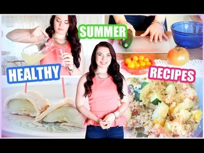 DIY Healthy Summer Recipes | Cooking with Shmandy!