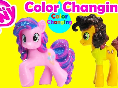 DIY My Little Pony Color Changing Cheese Sandwich and Pinkie Pie
