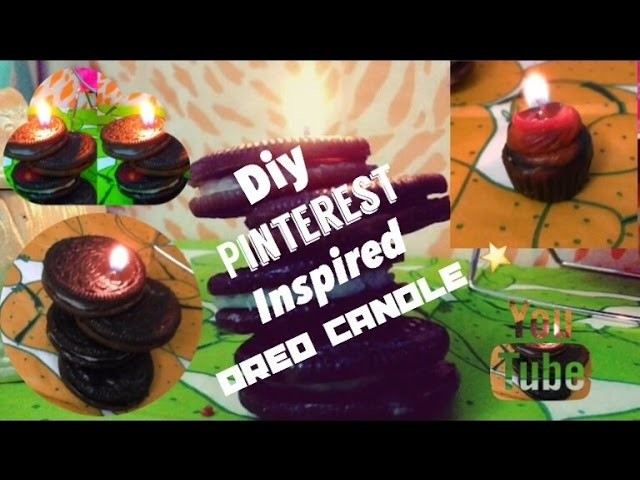 DIY Pinterest Inspired Oreo Candle ⭐️|HOLIDAY SEASON  |Lahna Amjad
