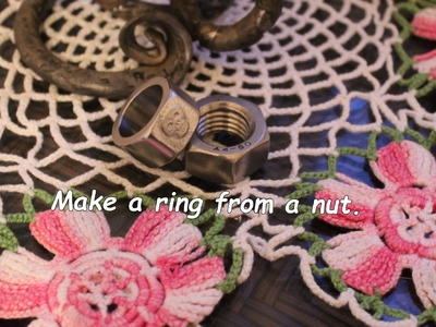 DIY ring from the hex nut. Version 1