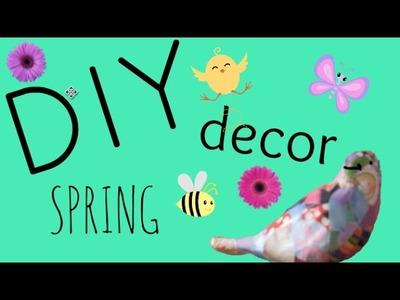 DIY Room Decor for Spring #spring collab