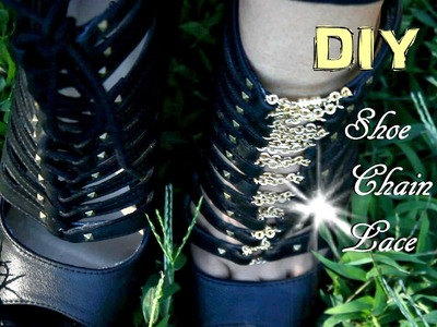 DIY Shoe Chain Lace