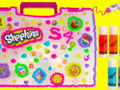 DIY Shopkins Storage Case Season 4 with DohVinci