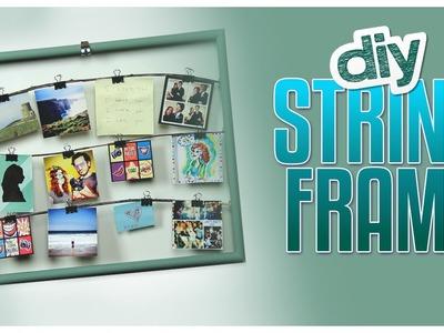 DIY String Frame - Do It, Gurl