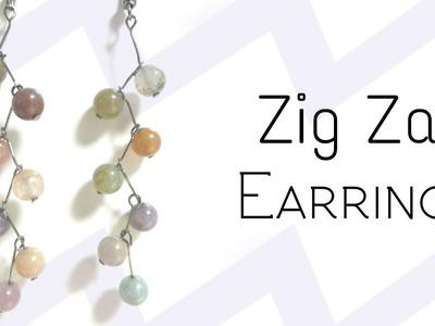 DIY Zig Zag Earrings