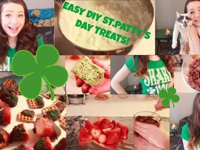 Easy DIY St. Patrick's Day Treats!