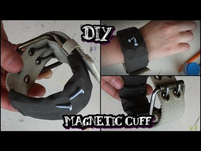 Father's Day DIY: Magnetic Cuff