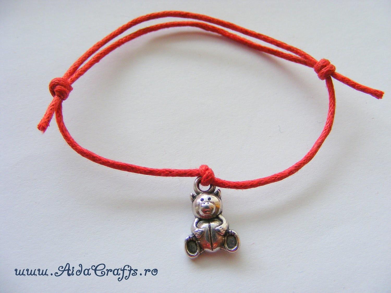 ✿ Handmade  - Bratara Charm - Tutorial 1 - AidaCrafts