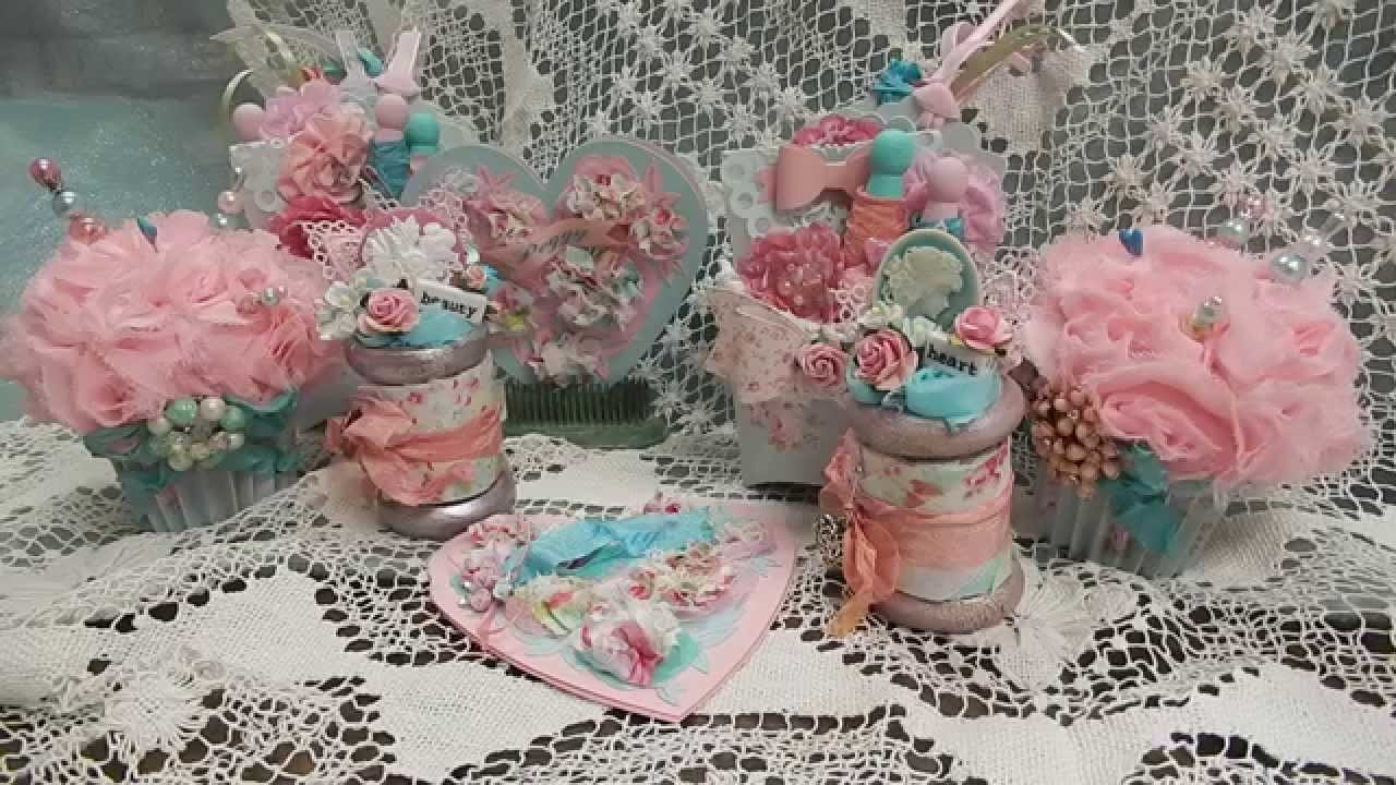 Handmade goodies for the winner of the Whats Love Got To Do With It You Tube Hop