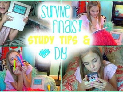 How To Get Ready For Finals! Study Tips & DIY School Supplies