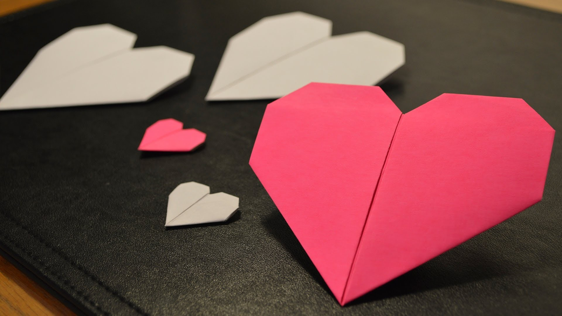How to make origami heart to express love | Origami Handmade