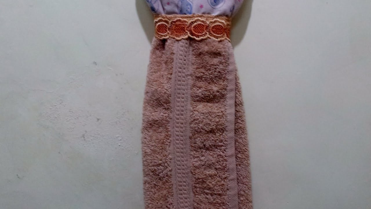 Make a Pretty Hand Towel Figure - DIY Home - Guidecentral