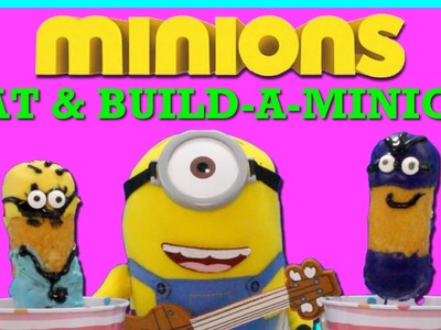 Minions Build-a-Minion Opening + DIY Minions Treats EPIC FAIL