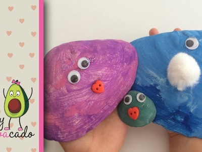 Paint Silly Seashells from the Beach! Fun & Easy DIY summer kid craft idea! Decorate w. Googly Eyes!