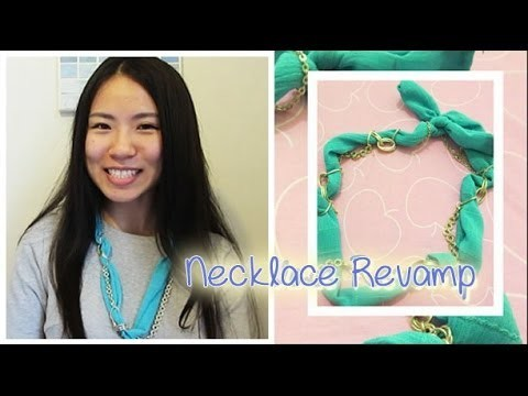 [Sunny DIY] How to Revamp a Old Necklace for Summer
