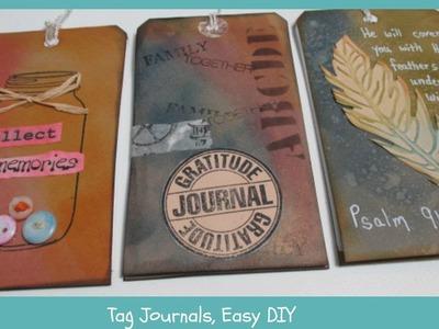 Tag journal-easy DIY, Part 1