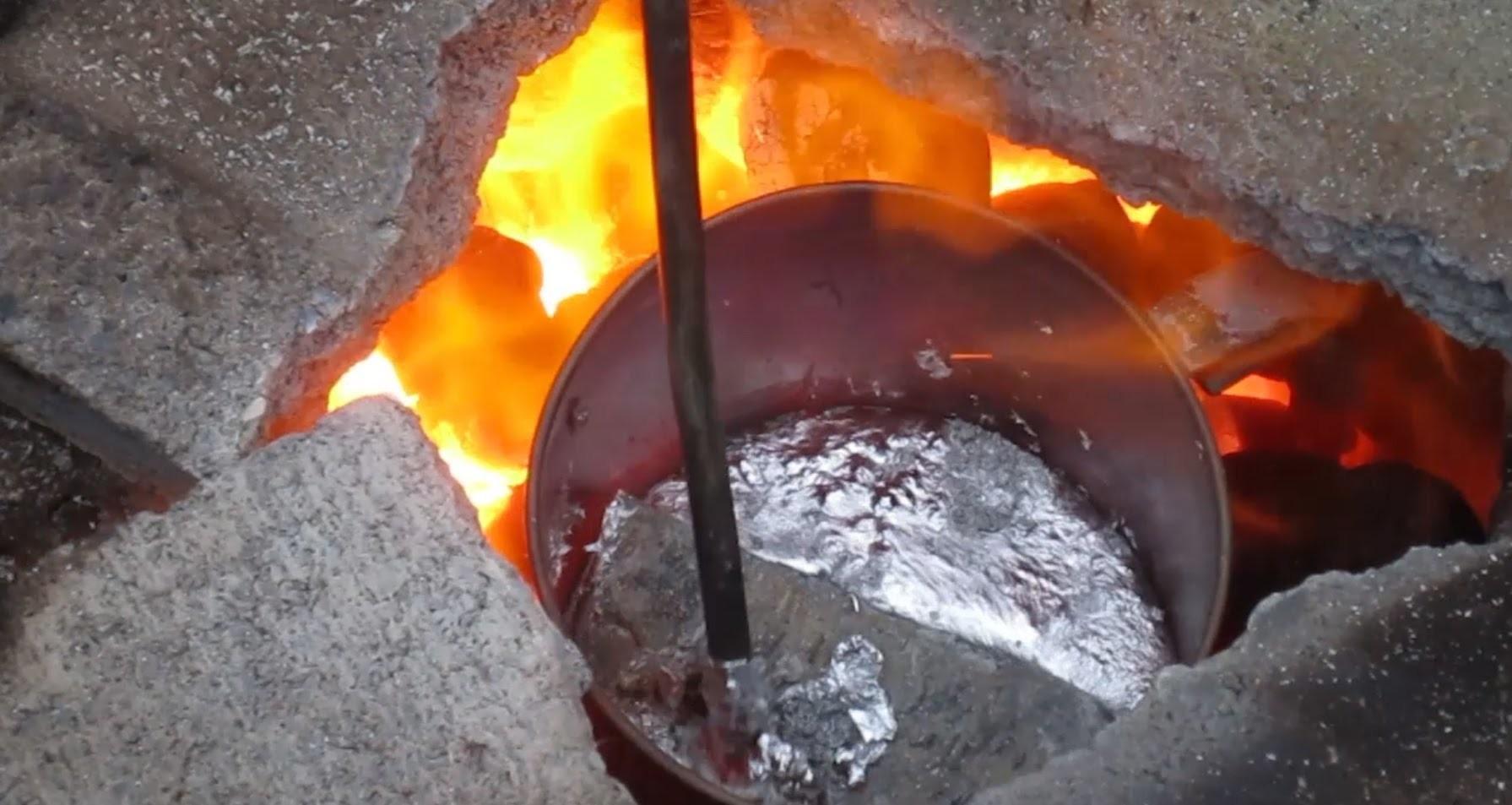 Turn 3d Prints Into Aluminum w. DIY Blast Furnace - Part 2 Preparation