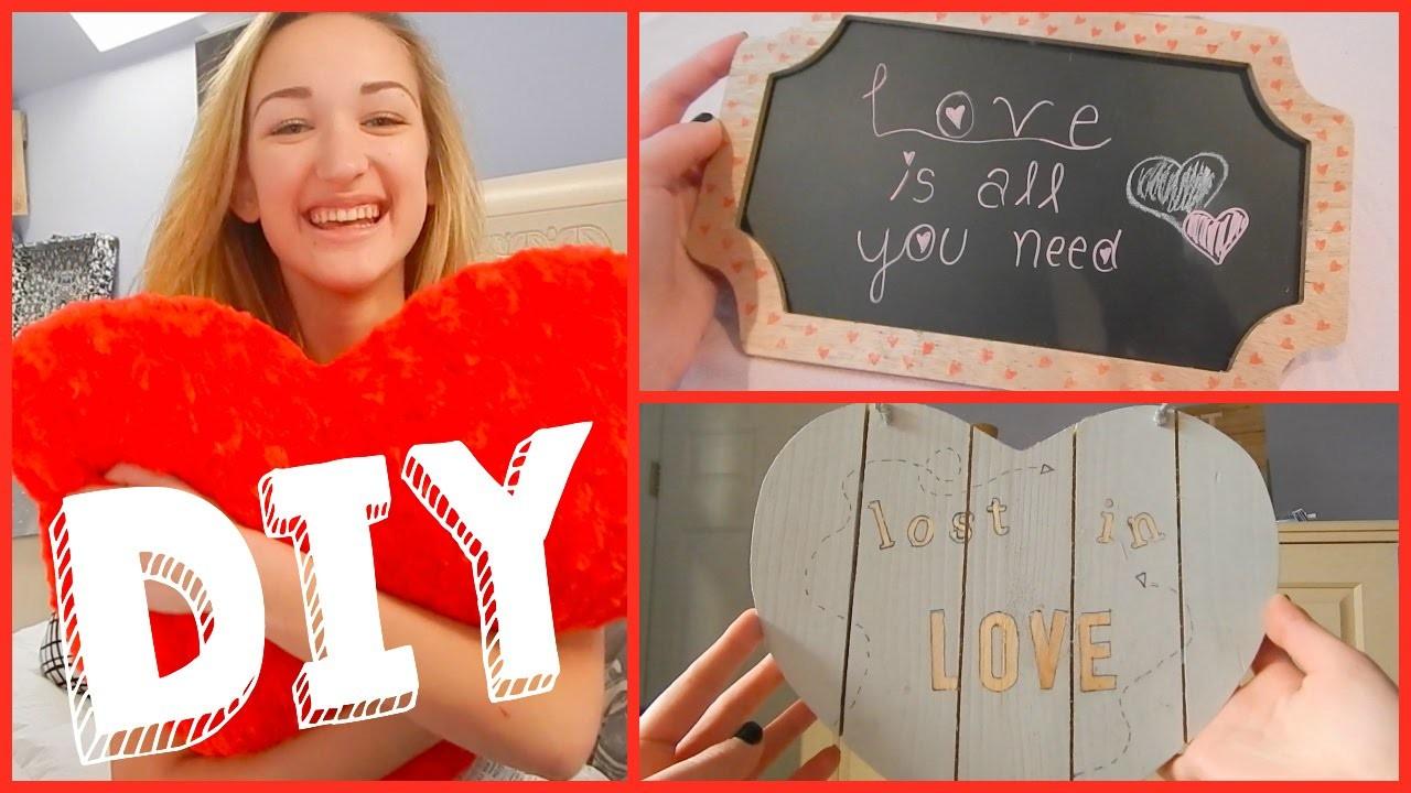 Valentines Day DIY Room Decor!