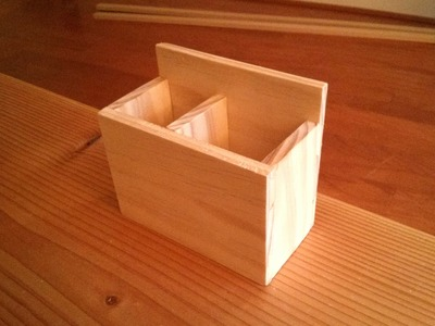 Woodwork - Unplugged, Handmade & Gluelessly Jointed Wooden Box