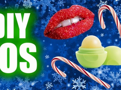 DIY Candy Cane EOS & Lip Scrub! With REAL Candy Canes!