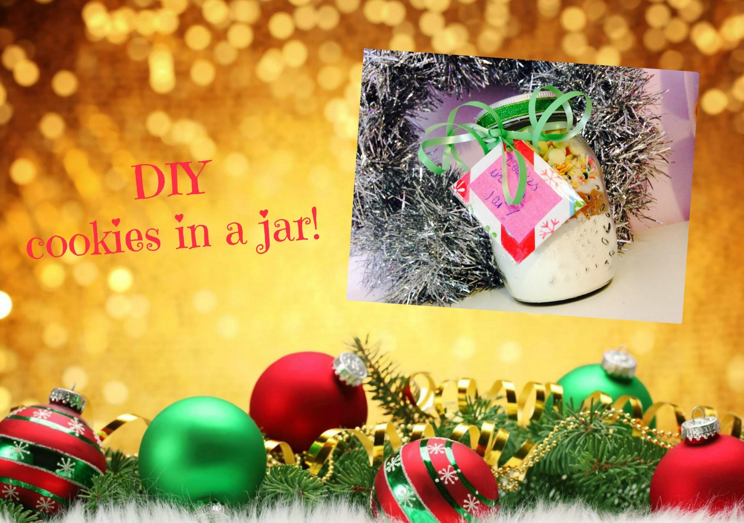 DIY 'cookies in a jar'