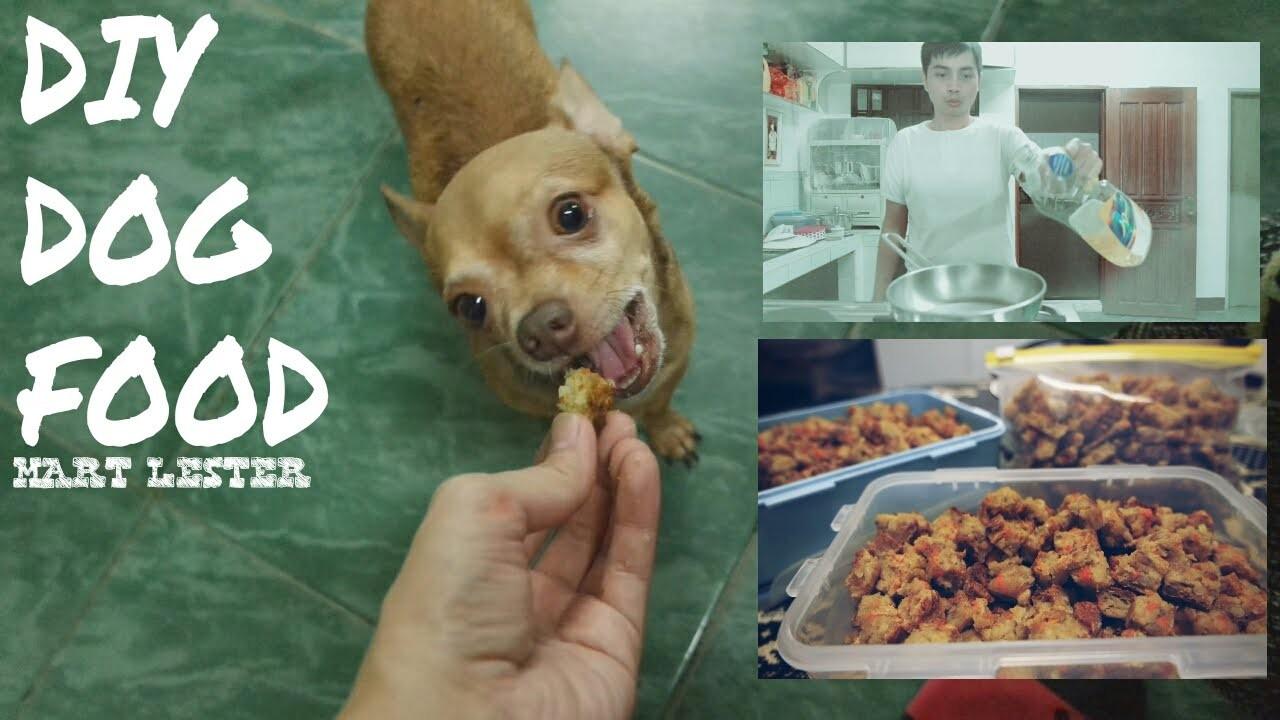 DIY Dog Food | Homemade Dry Dog Food