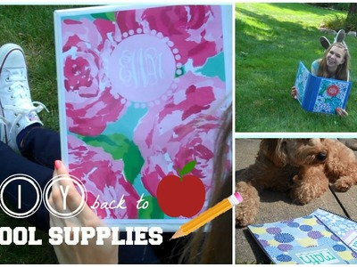 DIY: Easy and Cute Back to School Supplies!