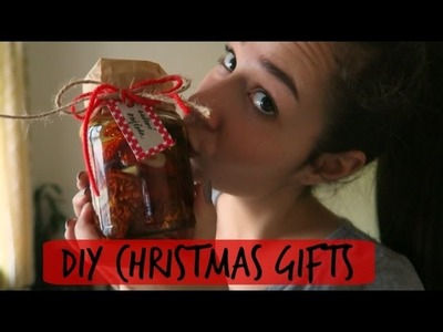 DIY Edible Christmas Gifts ideas