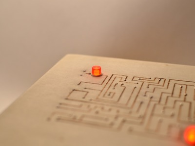 DIY Electronic puzzle box