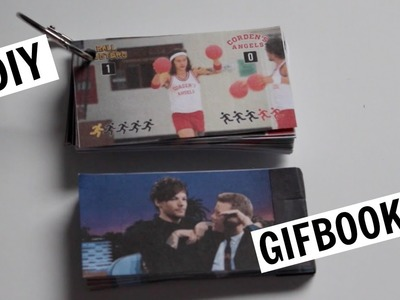 DIY gif to flipbook