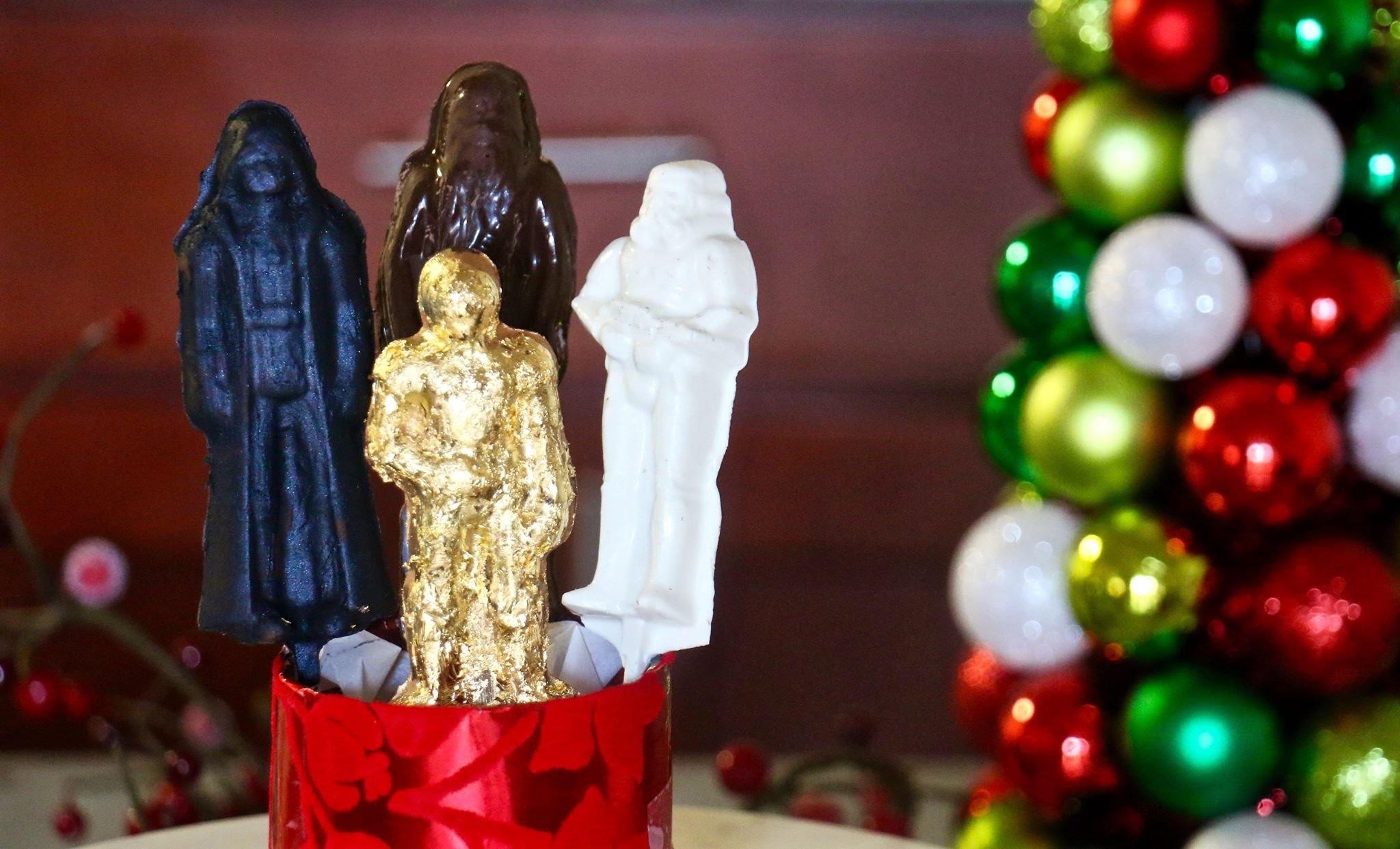 DIY: Star Wars Chocolate Suckers (edible christmas gifts) - Kena Peay (Day 12)