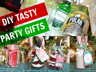 DIY Tasty Holiday Party Gifts! Last Minute Gift Ideas!