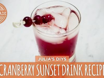HGTV Cranberry Sunset Drink Recipe - HGTV Handmade