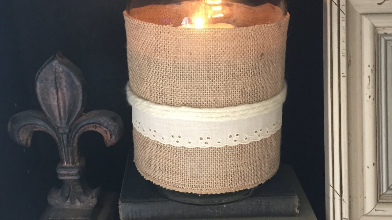 Make a Vintage Style Candle Holder from a Jar - DIY Home - Guidecentral