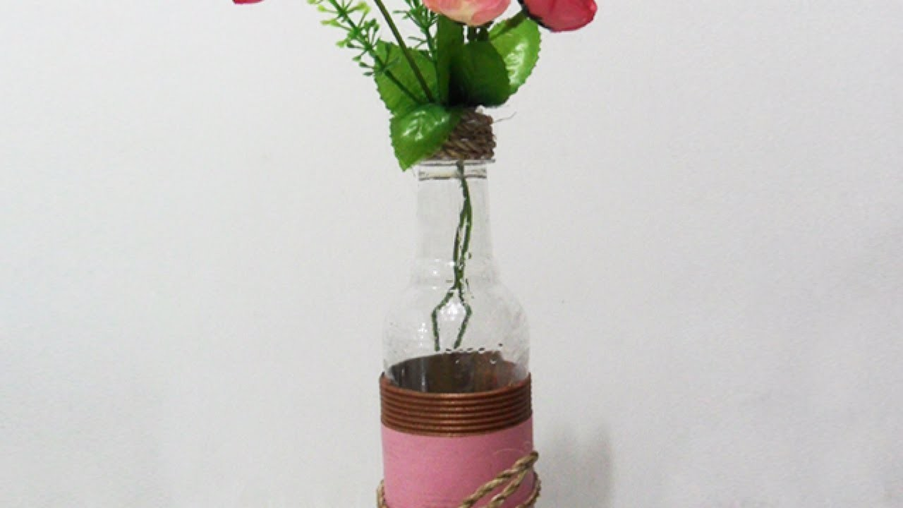 Make an Adorable Plastic Bottle Vase - DIY Home - Guidecentral