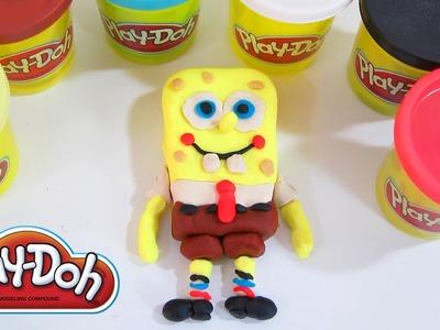 Play-Doh Spongebob Squarepants | Fun & Easy How To DIY Play Doh!