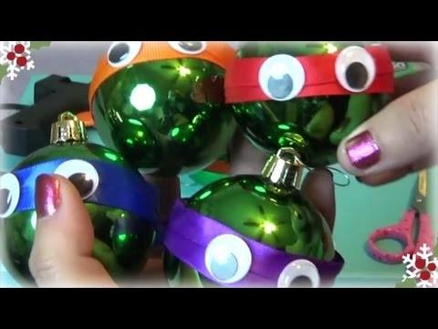 Quick & Easy DIY Teenage Mutant Ninja Turtles Christmas Ornament