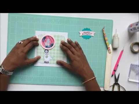 Shaker Card tutorial - Handmade by B
