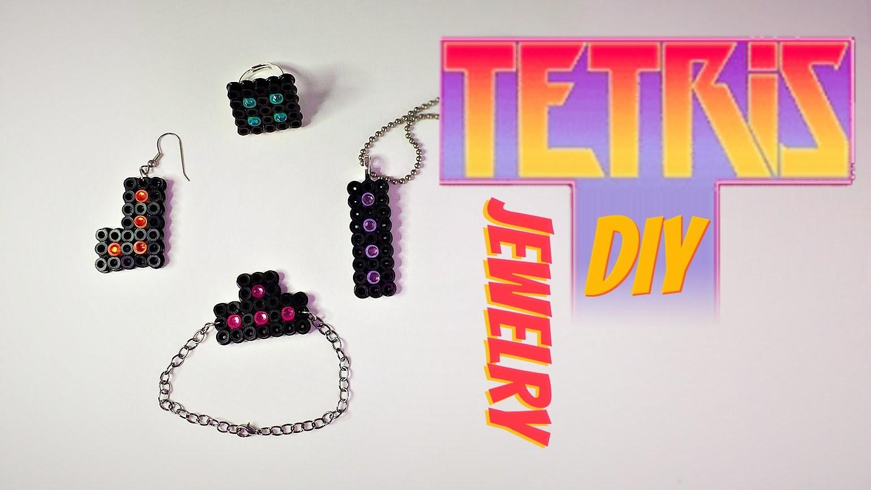 Tetris Jewlery DIY