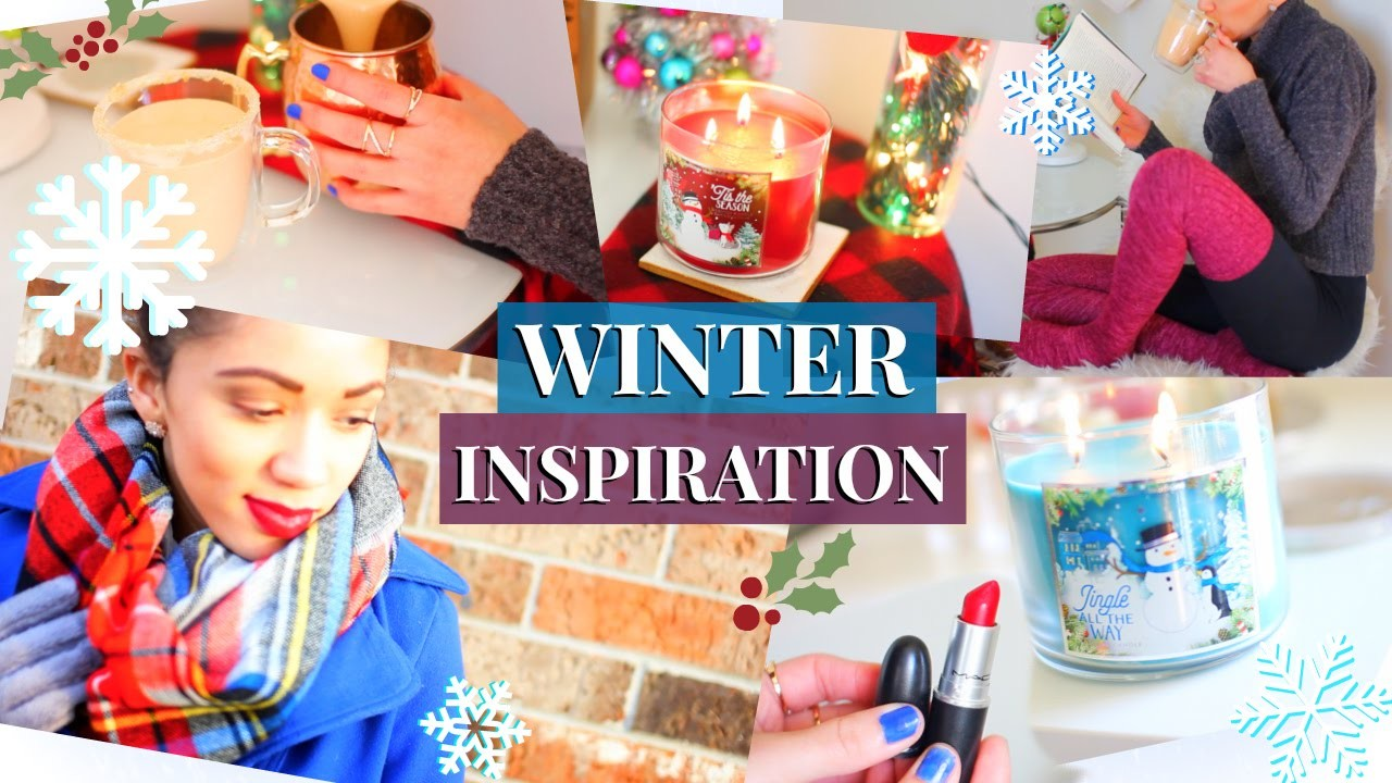 WINTER & HOLIDAY INSPIRATION | DIY Drink, Essentials, Makeup & Decor!