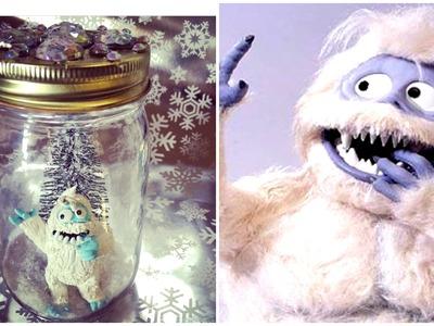 DIY ABOMINABLE SNOWMAN IN A JAR