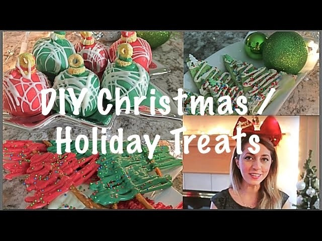 DIY Christmas and Holiday Treats -  Part 2 | Pinterest and Tumblr Inspired